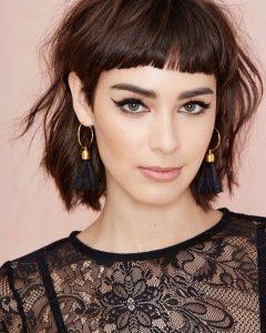 Short Shaggy Hairstyles With Fringe
