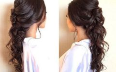 Voluminous Half Ponytail Bridal Hairstyles