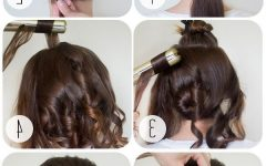 Lifted Curls Updo Hairstyles for Weddings