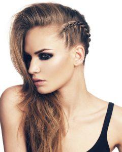 Faux Undercut Braid Hairstyles