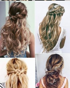 Wedding Hairstyles For Long Hair Half Up And Half Down