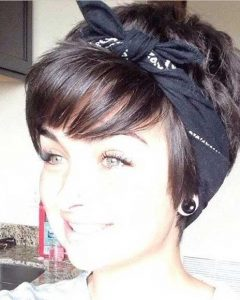 Cute Short Hairstyles With Headbands