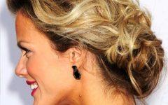 Soft Updo Hairstyles for Medium Length Hair