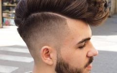 Voluminous Tapered Hawk Hairstyles