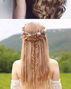 Braided Quinceaneras Hairstyles