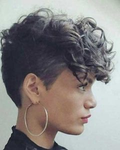 Related About Curly Pixie Haircuts Tumblr