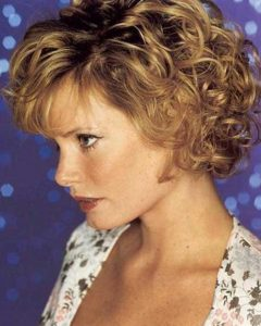 Short Haircuts For Women Over 40 With Curly Hair