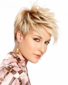 Razor Cut Short Hairstyles