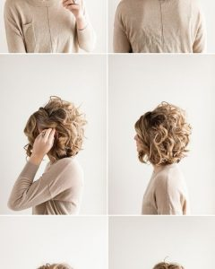Homecoming Updo Hairstyles For Short Hair