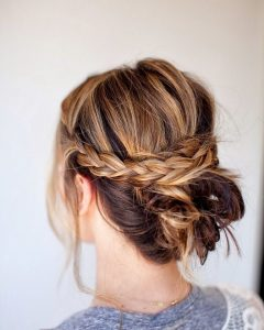 Quick And Easy Updo Hairstyles For Medium Hair
