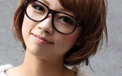 Short Haircuts For Women With Glasses