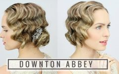 Finger Waves Long Hair Updo Hairstyles