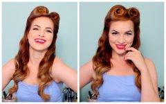 50s Updo Hairstyles for Long Hair