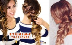 2-Minute Side Pony Hairstyles