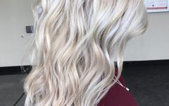 All-over Cool Blonde Hairstyles