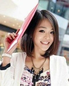Short Bob Hairstyle For Asian Women