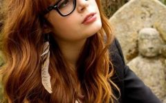 Long Hairstyles with Glasses