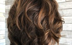 Short Brown Hairstyles with Subtle Highlights