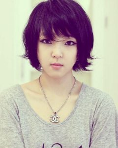 Cute Short Asian Hairstyles
