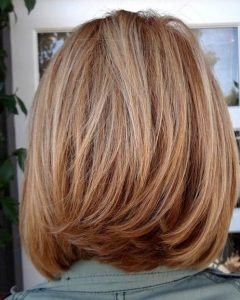 Medium Long Layered Bob Hairstyles
