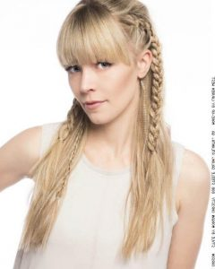 Long Hairstyles Updos With Fringe