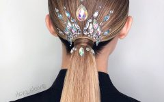 Graded Ponytail Hairstyles With A Butterfly Clasp