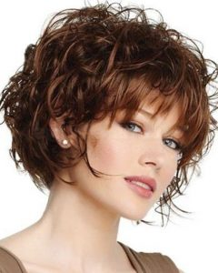 Short Hairstyles For Thick Wavy Hair 2014