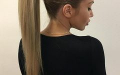 Strong Braid Ponytail Hairstyles