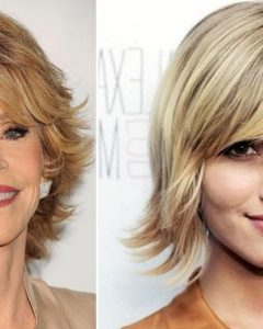 Short Medium Shaggy Hairstyles