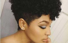 Short Haircuts for Curly Black Hair