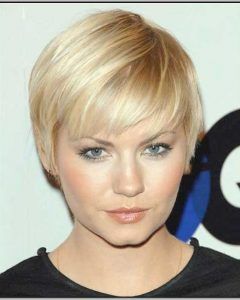 Short Hairstyles For Round Face And Fine Hair