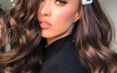 Black Hairstyles with Brown Highlights