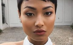 African American Pixie Haircuts