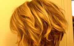 Tousled Wavy Bob Haircuts