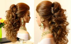 Updo Hairstyles for Long Curly Hair