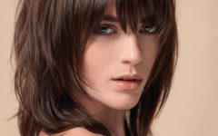 Layered Shaggy Medium Hairstyles