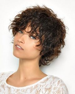 Edgy Short Curly Haircuts