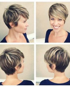 Pixie Haircuts With Highlights