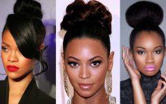 Black Ladies Updo Hairstyles