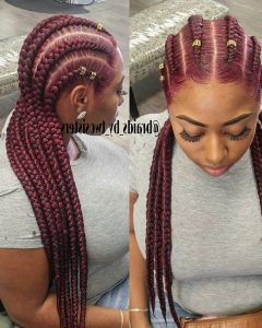 Braided Hairstyles To The Back