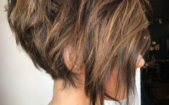 Brunette Messy Shag Hairstyles