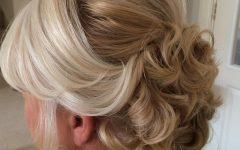 Embellished Caramel Blonde Chignon Bridal Hairstyles