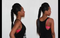 Fishtail Ponytails With Hair Extensions
