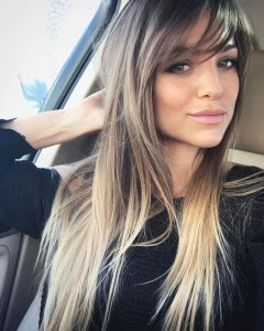Long Hairstyles With Side Fringe