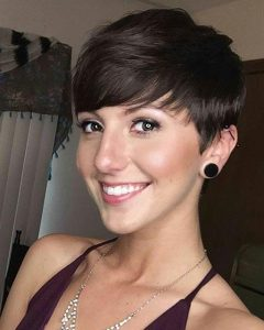 Short Pixie Haircuts With Bangs