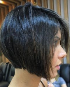 Super Short Inverted Bob Hairstyles