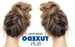 Upside Down French Braid Hairstyles