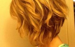 Wavy Inverted Bob Hairstyles