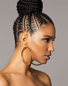 Cornrows Hairstyles With Buns