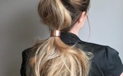 Curly Pony Hairstyles for Ultra Long Hair